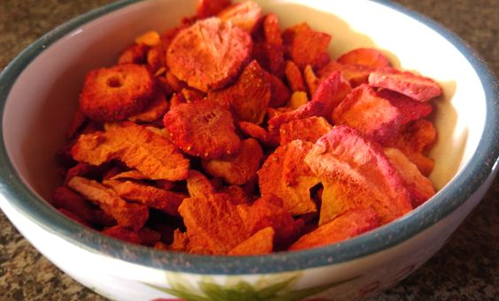 Dried strawberries mean they are always in season.