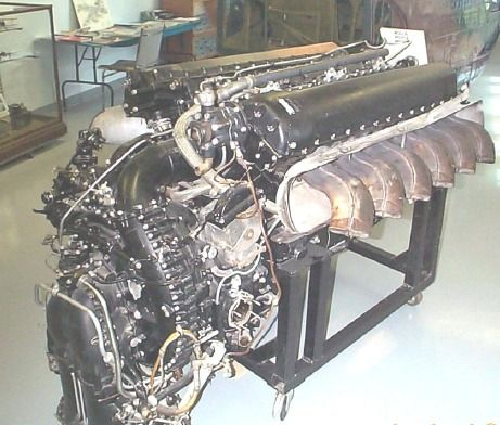 Rolls royce merlin, Engine and Mustangs on Pinterest