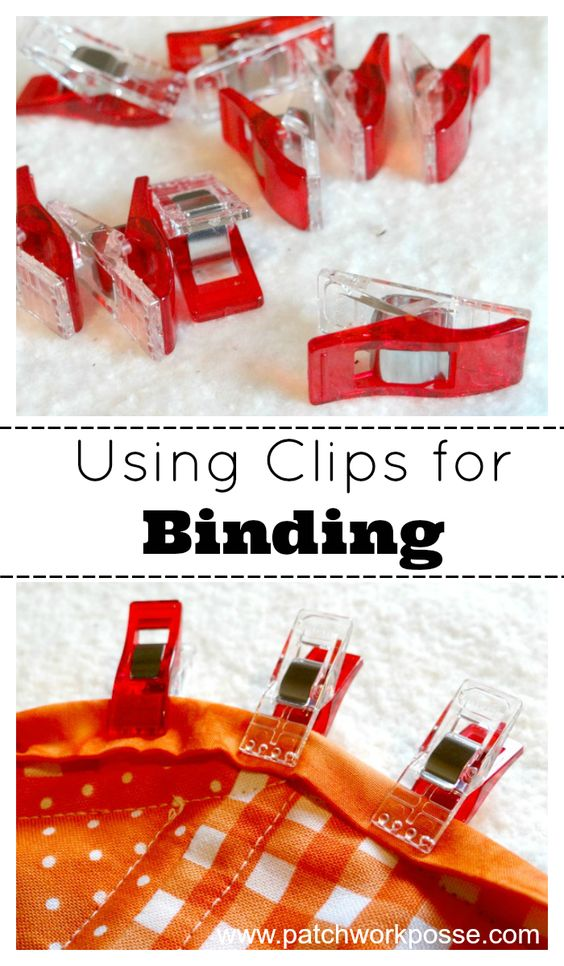 How to Use Clover Wonder Red Clips- these really are wonderful!:
