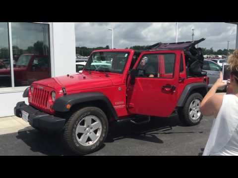 84 Bryandrives Com Jeep Wrangler Power Soft Top Youtube Soft