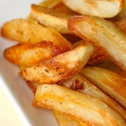 Finally, the perfect oven fries I've been searching for.