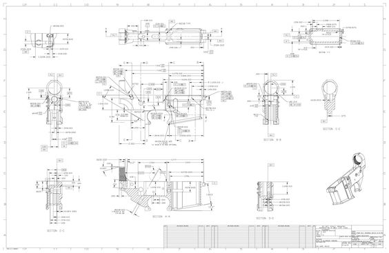 Firearmblueprints Net Firearm Blueprints Construction