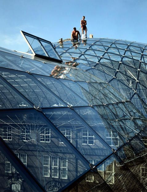 1989 Germany Hamburg Museum Of Hamburg History Glass Roof Roofingguide Glass Roof Green Roof Building