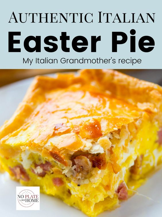 Grandmothers Authentic Italian Easter Pie