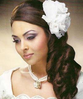 2Flowers wedding hairstyles 2012
