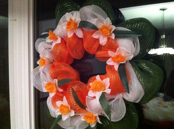 Daffodil wreath.