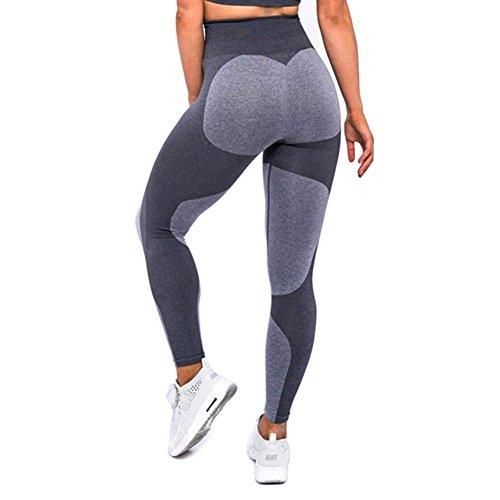 Lady Solid Leggings Women High Waist Elastic Jeggings Slim Fitness Legging B
