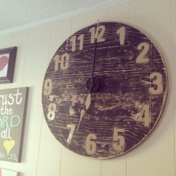 Clock Hands And Numbers On Pinterest