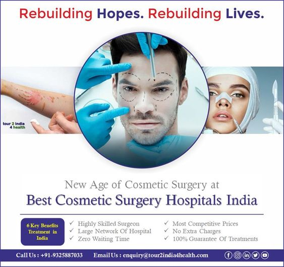 Best cosmetic surgery hospitals India