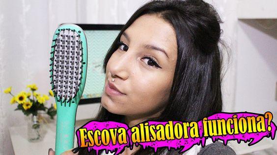 Escova Alisadora funciona?Review Jade irresistible me