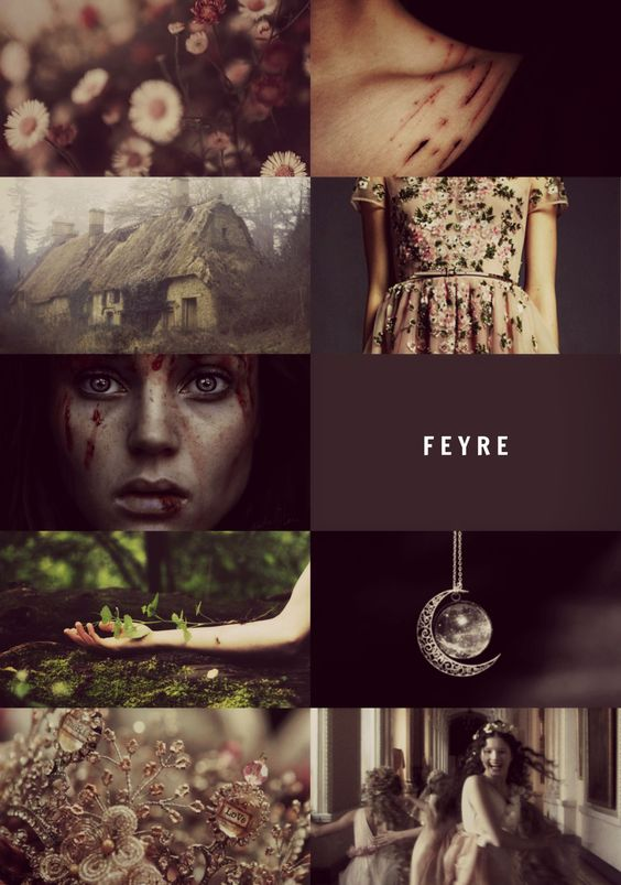#Feyre - acotar aesthetic: Rhysand Feyre Tamlin Lucien - To whatever end