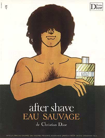 René Gruau illustration from 1971.