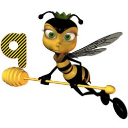 bees alphabets