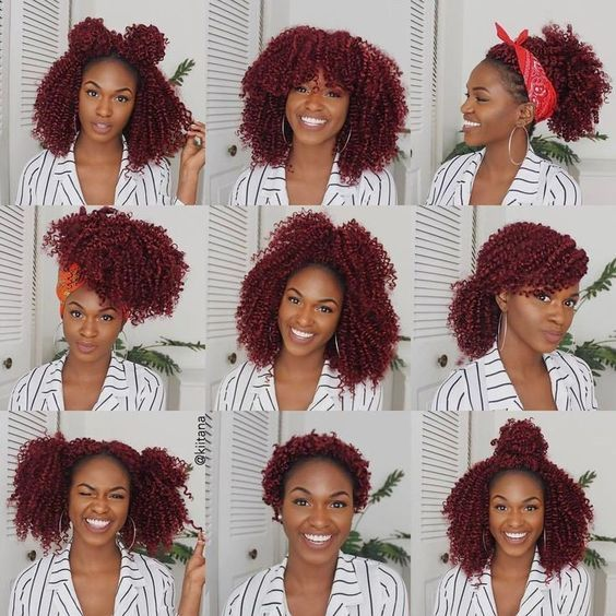 40 Stylish Crochet Braids Styles You Should Try Next Natural Hair Styles Curly Crochet Hair Styles Crochet Braids Hairstyles