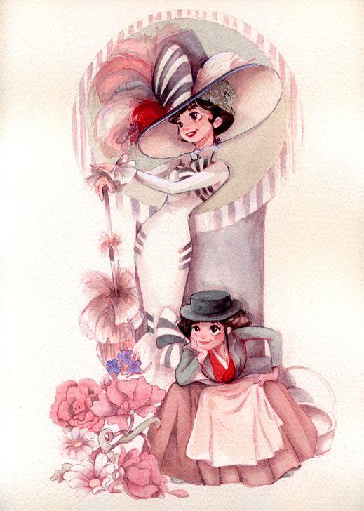 edian: My fair lady in Susanita Little Gallery