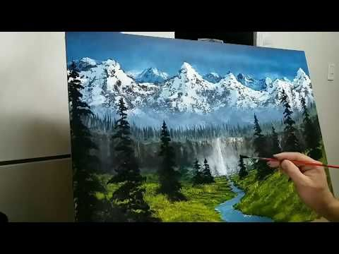 Como Pintar Un Paisaje Facil Para Principiantes En 2 Horas How To Paint A Easy Landscape Youtube Como Pintar Como Pintar Paisajes Como Pintar En Oleo