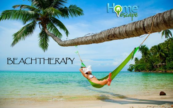 Beach Therapy #beach #vacation #HomeEscape