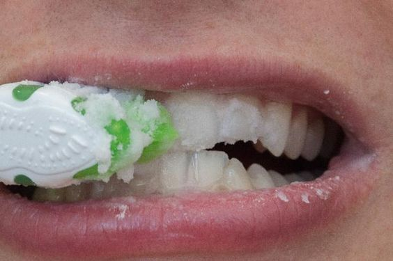 How to remove plaque at home. I hate going to the dentist so i will be trying this!!