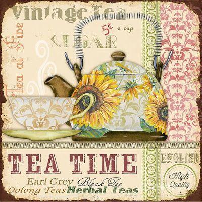 Imprimolandia: Tea time printable