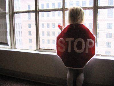 STOP sign costume (made, made blog, dana made it, dana-made-it.com, dana willard)