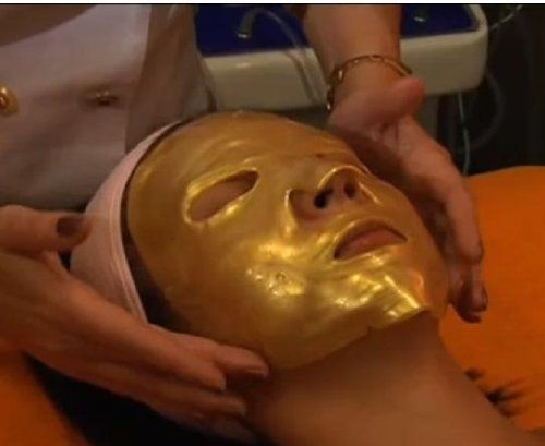 Five(5)Sets of 24K Gold Collagen Gel Mask's by Enigma Gold Mask. $21.99. Gold Collagen mask activates skin cells and rejuvenates, & tightens the skin, boosts collagen production.. Collagen Golden Mask for all skin types. Collagen Gold facial penetrates the skin and is believed to have revitalizing and rejuvenating effects.. Can improve blood circulation and bring a glow to the face. Intensive Anti-Aging care for wrinkles, dull skin and pigmentation problems.. Helps fight the...
