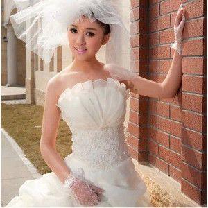 ウエディングドレス二次会 ウェディングドレス花嫁 結婚式披露宴 パーティードレス プリンセス 素敵豪華 安いドレス通販