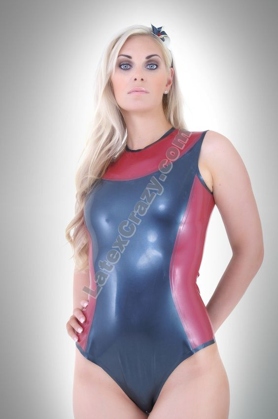 latex swim wear
