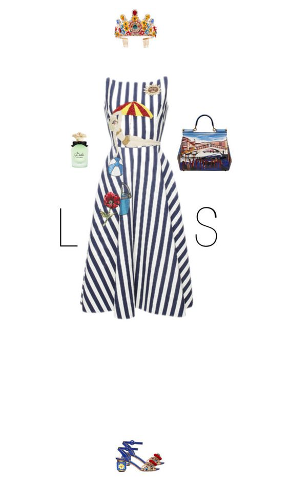"""""""LS"""" by chersjoy ❤ liked on Polyvore featuring Dolce&Gabbana"""