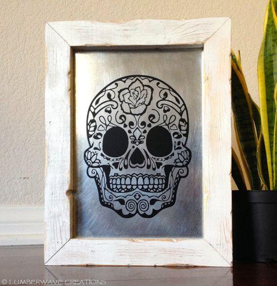 Halloween & Dia de los Muertos decoration!