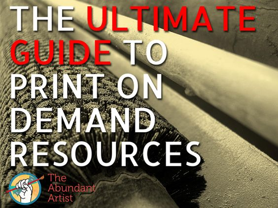 Very useful article for artists looking to sell pod.  The Ultimate Guide to Print on Demand (POD) Resources