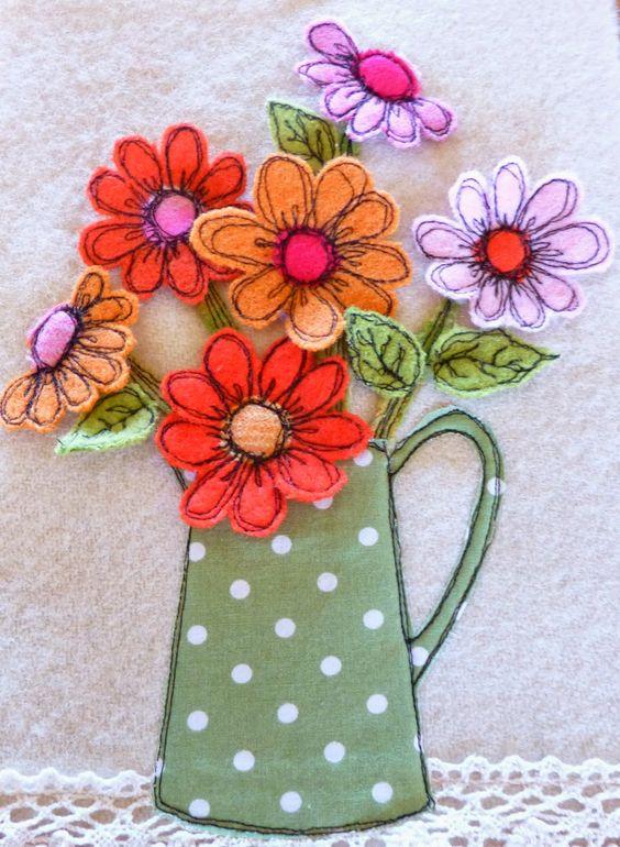 Topf mit Blumen