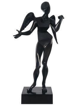 Salvador Dali - Skulptur: Kubistischer Engel