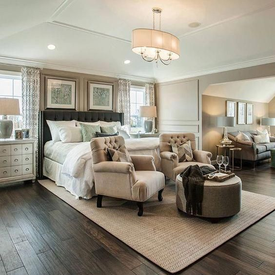 28 Fabulous Master Bedrooms With Sitting Area Bedroom Seating Area Large Master Bedroom Ideas Bedroom Seating Cozy master bedroom with large