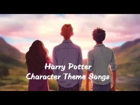Harry Potter Character Theme Songs Youtube Harry Potter Characters Theme Song Harry Potter Song