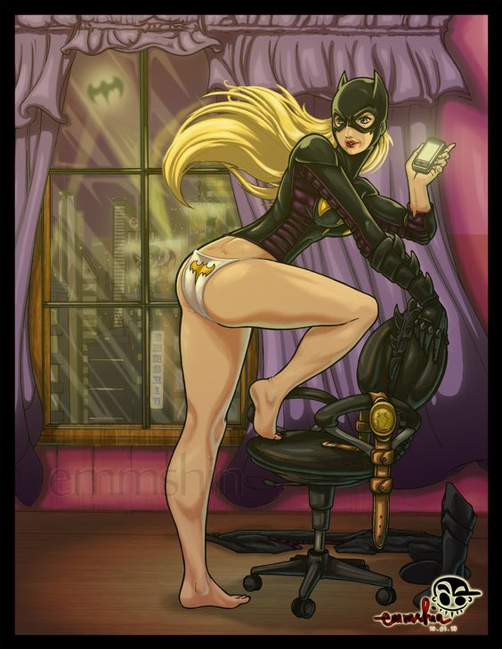 Batgirl by *emmshin on deviantART
