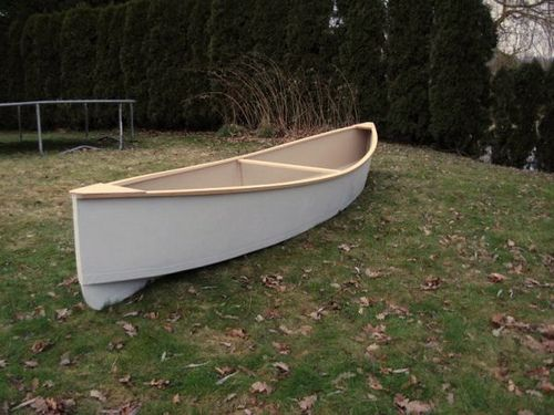 4 5 hour plywood canoe by storer boat plans for Plywood fishing boat plans