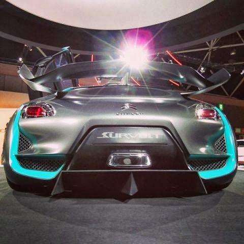 Citroën - Google+ - Lights, camera, #Survolt. #CitroenFanPhoto of the day!