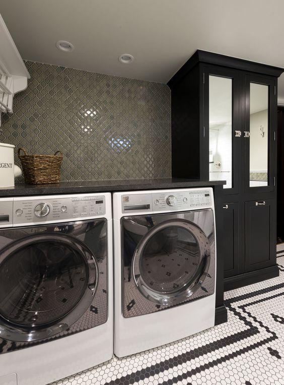 Basement Bath Laundry Combo
