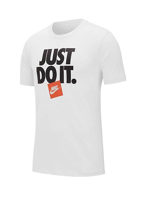 Men/'s Nike Just Do It T-Shirt Casual Sports Basic Active Wear Tee Top SMALL-XL
