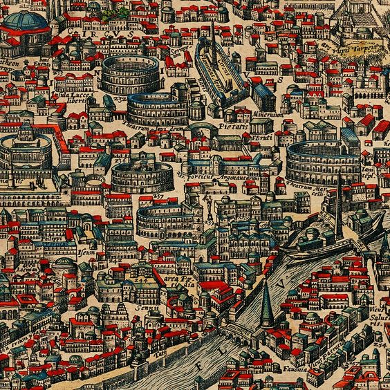 Ancient Rome Antiquae Urbis Romae SPQR - Maps of us and rome