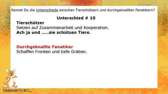 #Tierschützer kontra #Fanatiker #Zoo #Tierpark