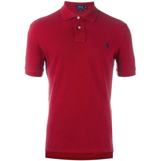 Polo Ralph Lauren classic polo shirt (5.450 RUB) via Polyvore featuring men's fashion, men's clothing, men's shirts, men's polos, red, mens red polo shirt, men's cotton polo shirts, mens cotton shirts, mens polo shirts и mens red shirt