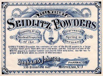 Vintage Medical Label