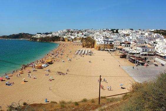 Portugal, Albufeira beach, Algarve