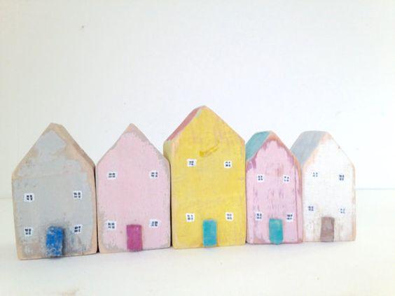 Casa madera Set con windows