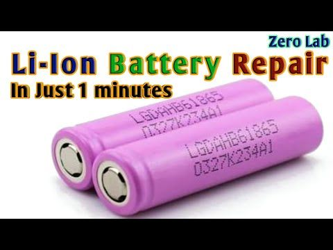 Dead Li Ion Battery Repair Youtube Battery Repair Batteries Diy Car Battery Charger