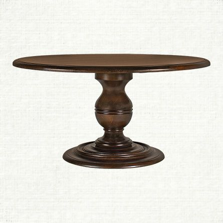 Asolo 60 Round Dining Table In Noceto Arhaus Furniture