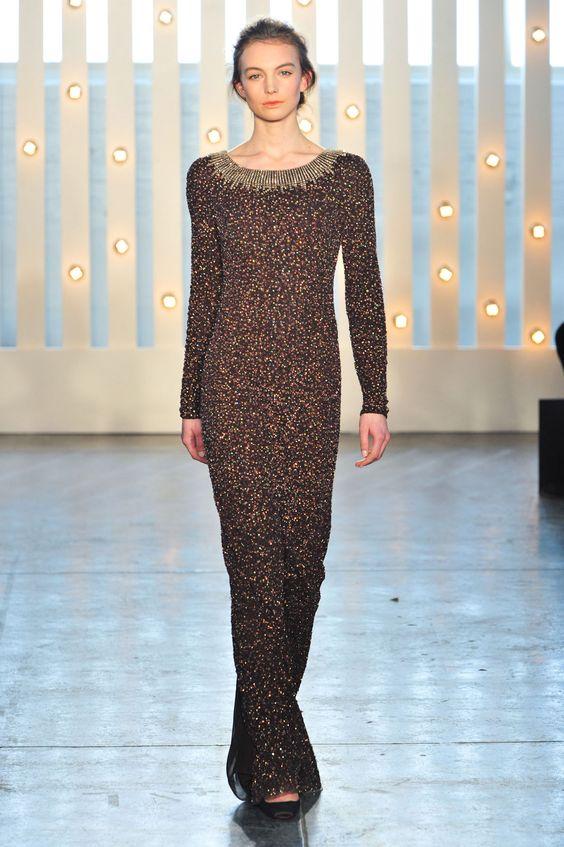 Jenny Packham - Inverno 2015 #NYFW