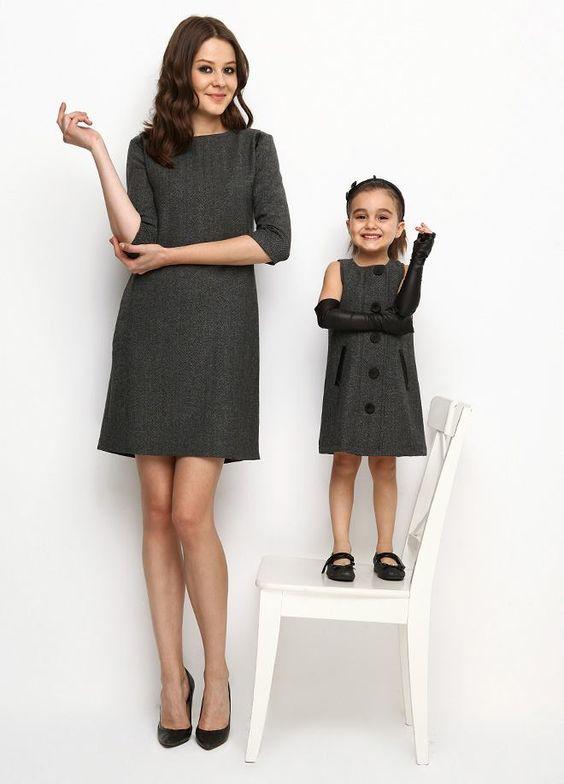 Anne-Kız Kombinleri: