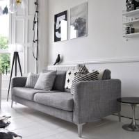 Un apartamento escocés con toques escandinavos